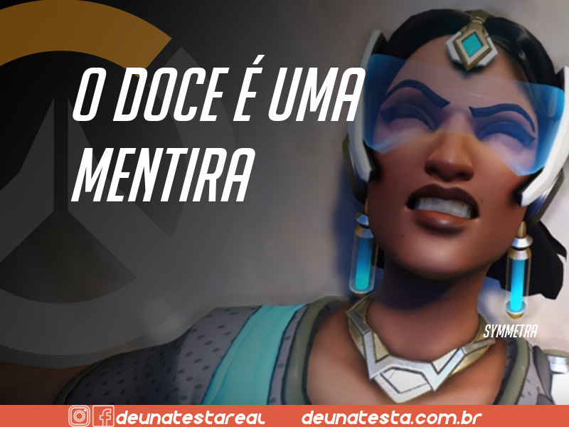 Motivação de Overwatch com frases dos personagens do game - Blog Farofeiros  - Symmetra