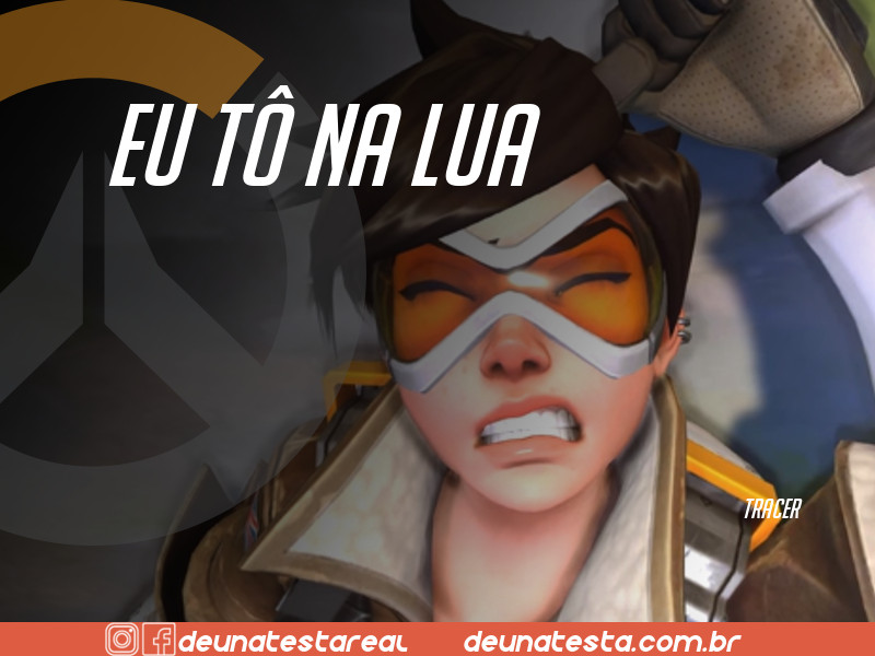 Motivação de Overwatch com frases dos personagens do game - Blog Farofeiros  - Tracer