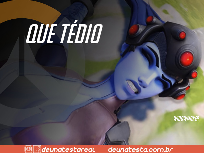 Motivação de Overwatch com frases dos personagens do game - Blog Farofeiros  - Widowmaker