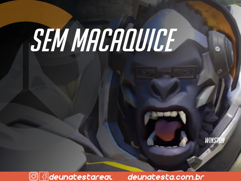 Motivação de Overwatch com frases dos personagens do game - Blog Farofeiros - Winston
