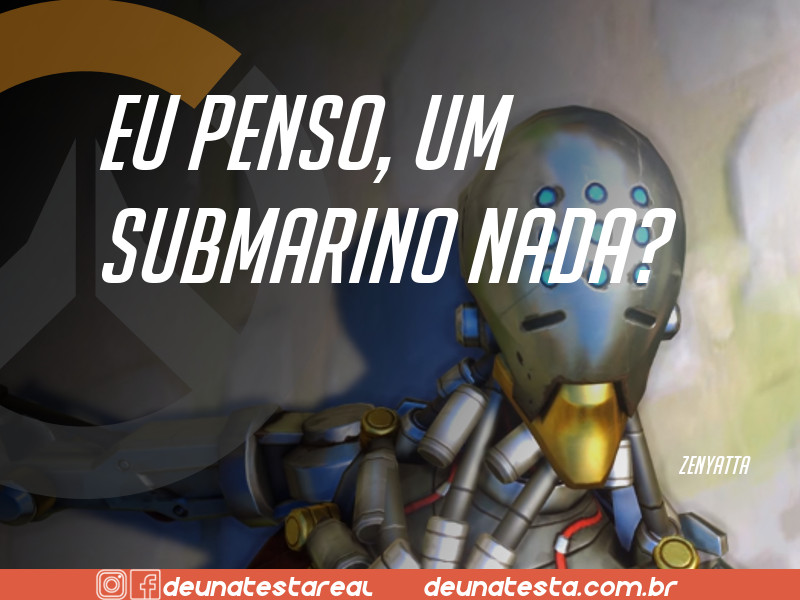 Motivação de Overwatch com frases dos personagens do game - Blog Farofeiros  - Zenyatta