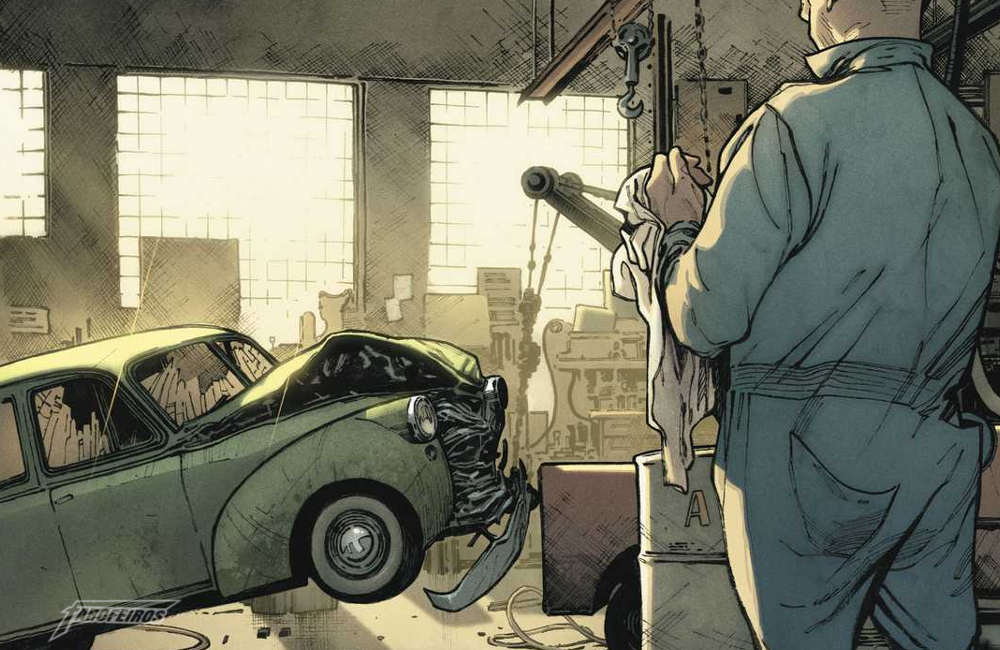 Action Comics #1000 - O carro que Superman destruiu - Blog Farofeiros