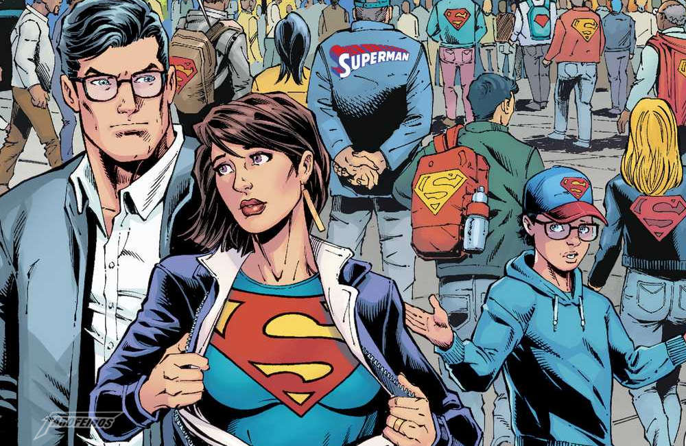 Action Comics #1000 - Lois Lane homenageia Superman - Esperança - Blog Farofeiros