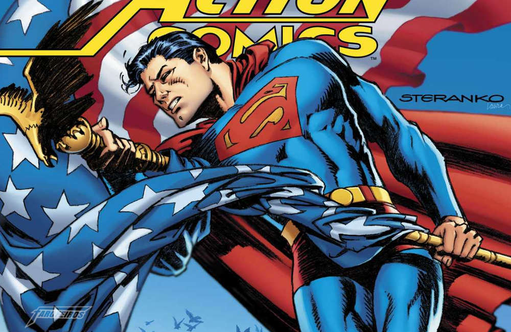 Action Comics #1000 - Superman de Steranko