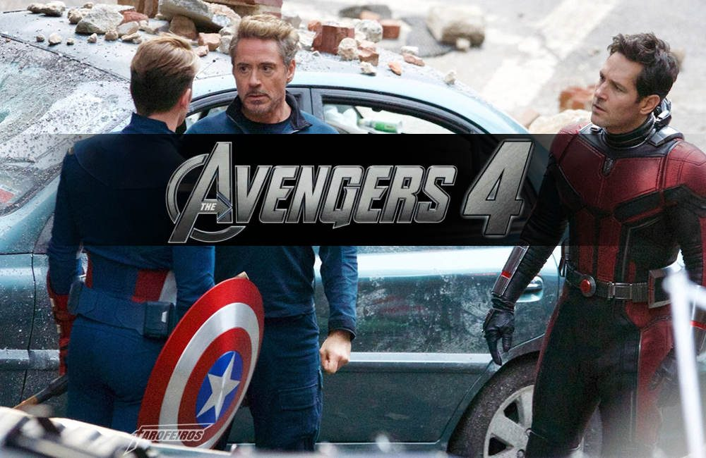 Fotos do set de filmagem de Vingadores 4