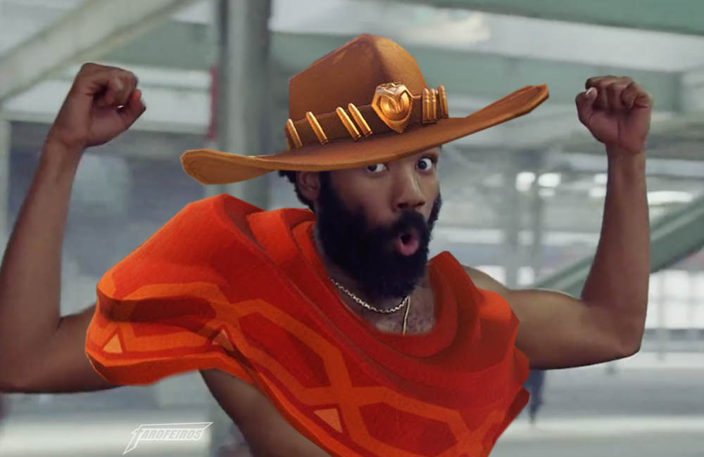 This is America versão Overwatch - McCree - Donald Glover