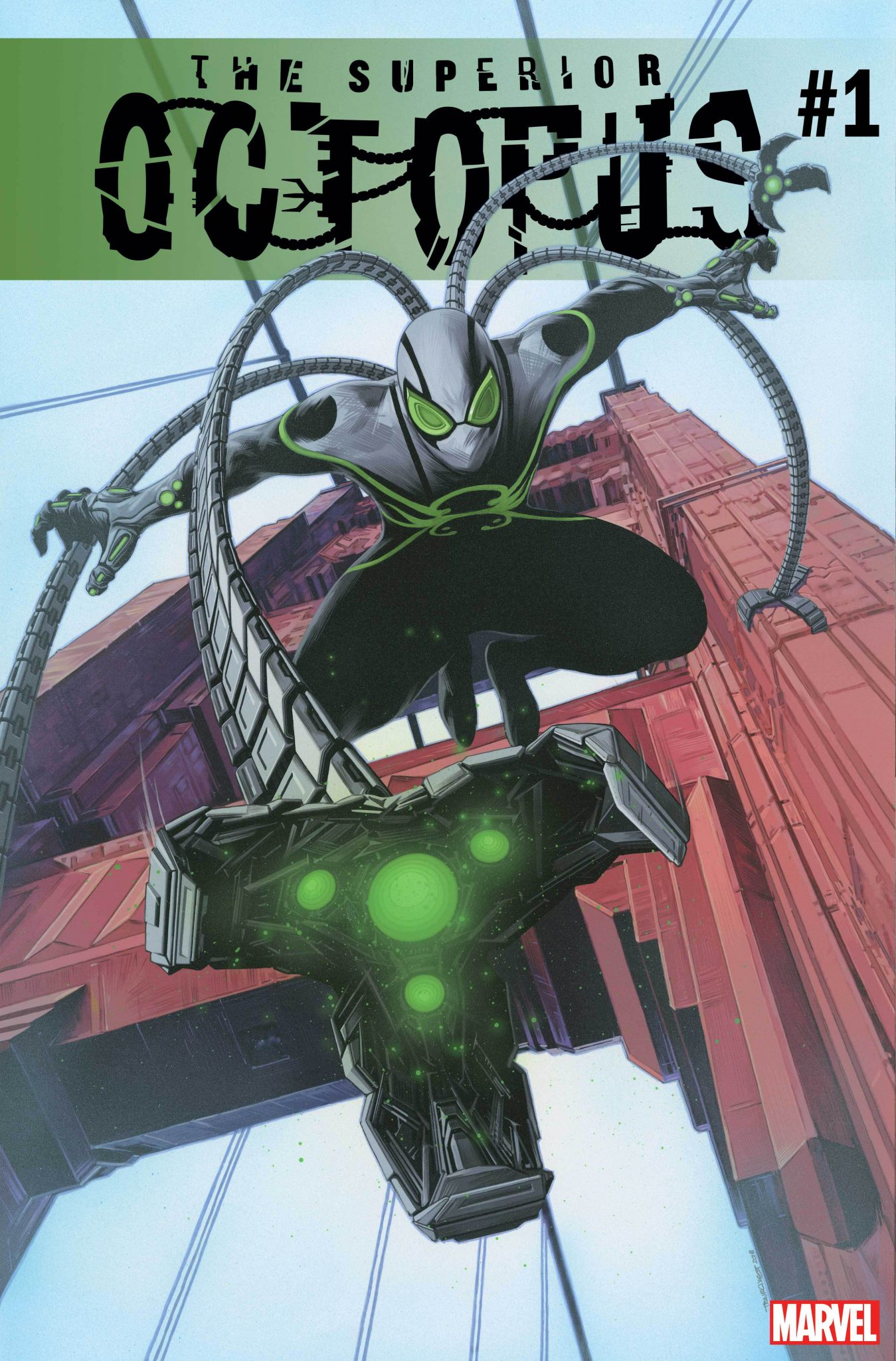 O melhor da Marvel na SDCC 2018 - Octopus Superior - The Superior Octopus #1