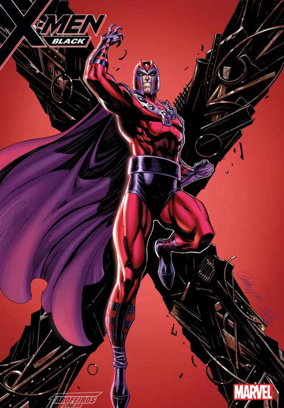 O melhor da Marvel na SDCC 2018 - X-Men Black - Magneto - J Scott Campbell