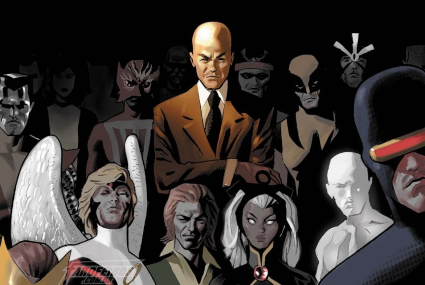 Luta - X-Men - Professor Xavier - Blog Farofeiros