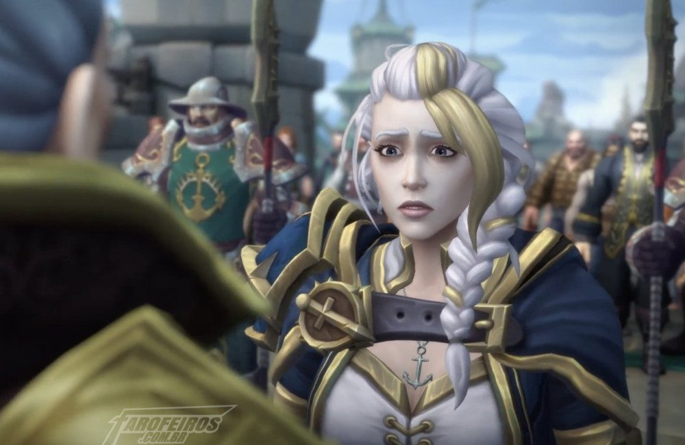O problema não é a política - World of Warcraft - Jaina