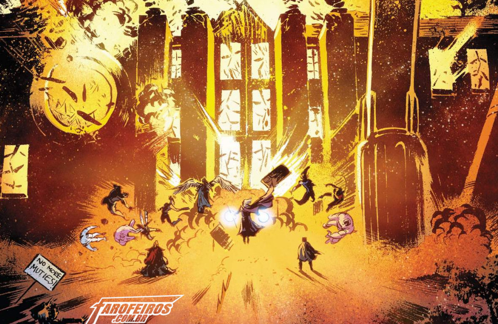 Novos Cavaleiros do Apocalipse - Uncanny X-Men #3 - Marvel Comics - Blog Farofeiros