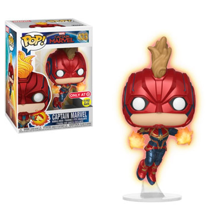 Funko do filme da Capitã Marvel - Blog Farofeiros