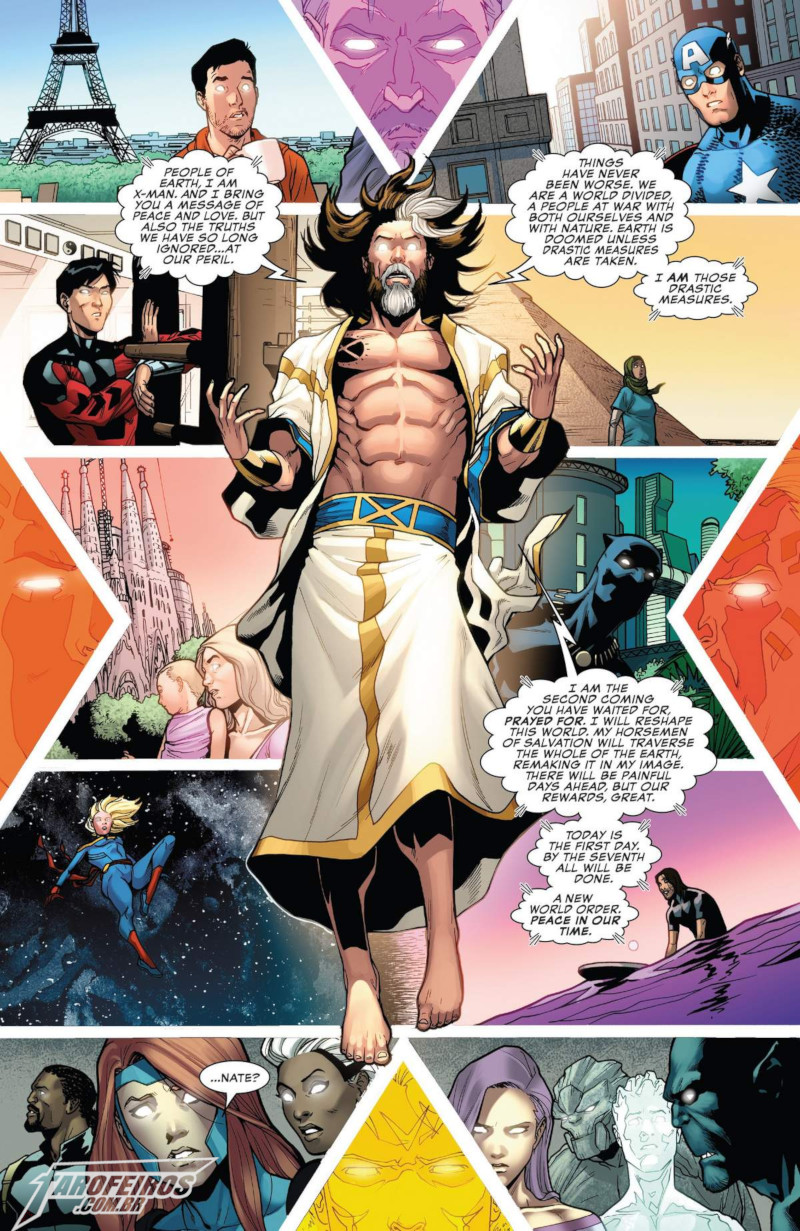 Uncanny X-Men - X-Man - Nate Grey - Marvel Comics - Blog Farofeiros