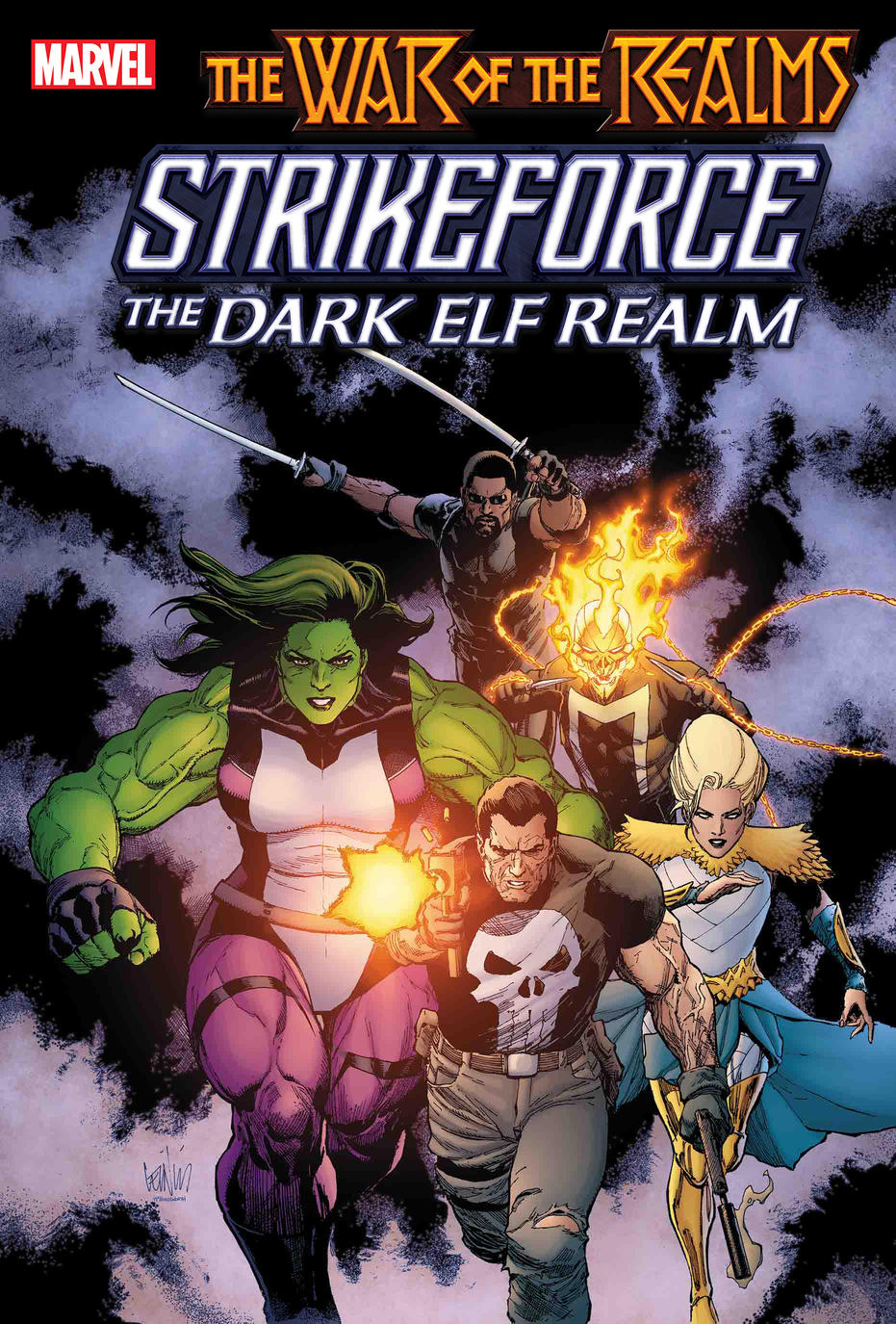 Guerra dos Reinos - War of the Realms - Strikeforce - The Dark Elf Realm - Blog Farofeiros