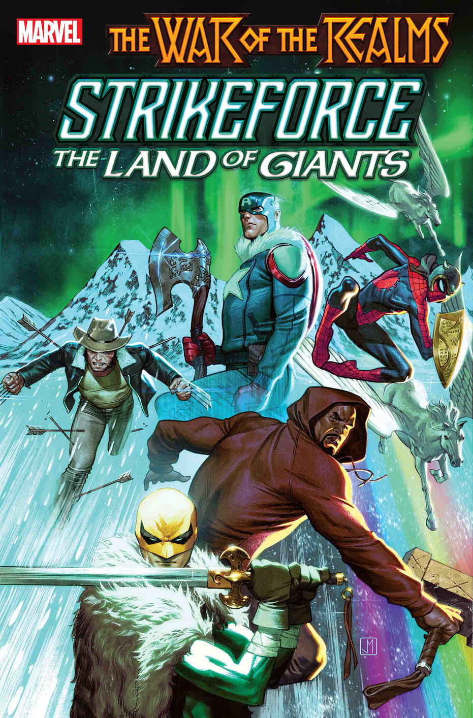 Guerra dos Reinos - War of the Realms - Strikeforce - The Land of Giants - Blog Farofeiros