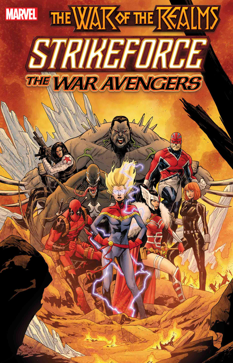 Guerra dos Reinos - War of the Realms - Strikeforce - The War Avengers - Blog Farofeiros