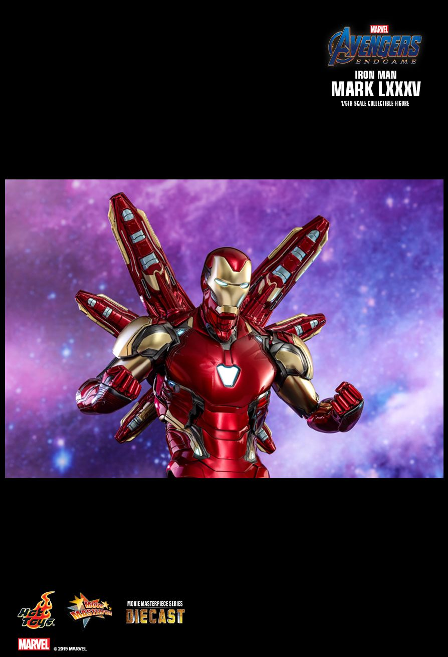 Homem de Ferro da Hot Toys de Ultimato - Vingadores - Blog Farofeiros