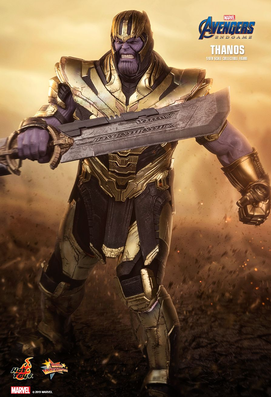Thanos da Hot Toys de Ultimato - Vingadores - Blog Farofeiros