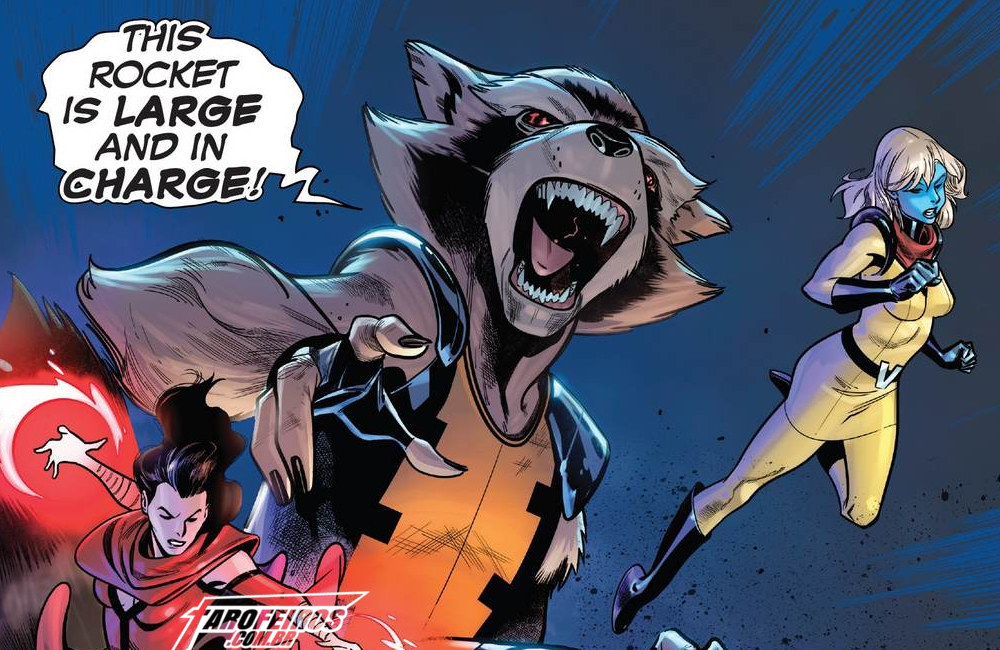 Avengers - No Road Home #9 - Vingadores - Rocket Racoon - Blog Farofeiros