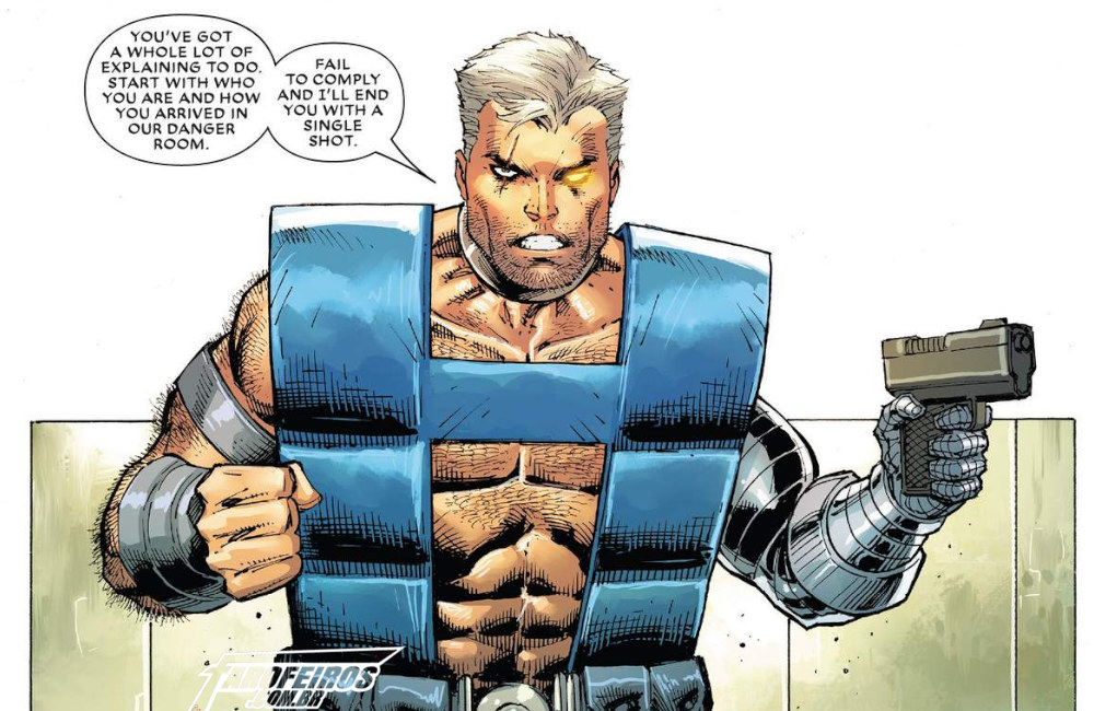 Outra Semana nos Quadrinhos #11 - Major X #1 - Cable - Rob Liefeld - Blog Farofeiros