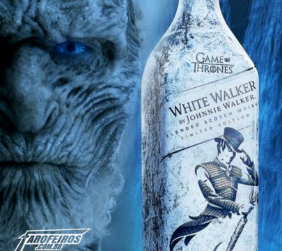 Whisky de Game of Thrones - White Walker - Johnnie Walker - Blog Farofeiros