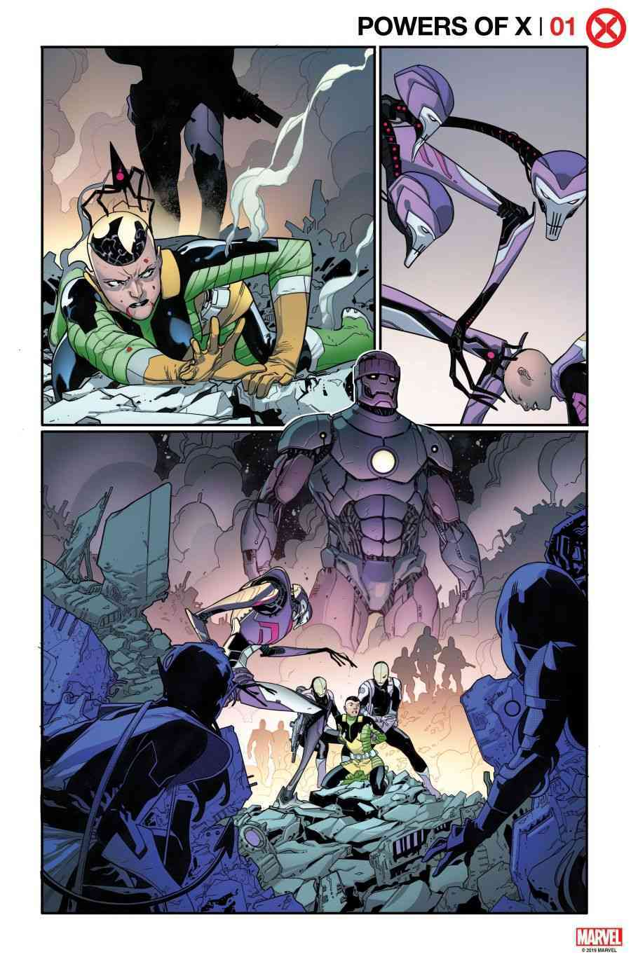 Os X-Men de Jonathan Hickman - Powers of X #1 - Arte interna 1 - Blog Farofeiros