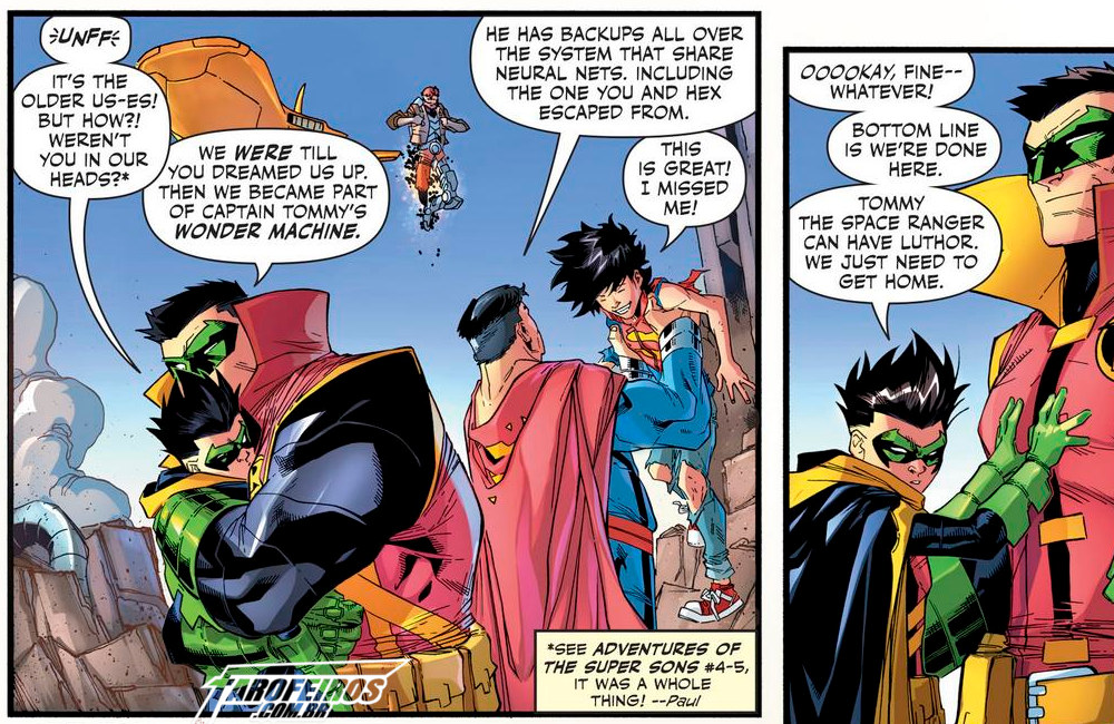 Outra Semana nos Quadrinhos #19 - Adventures Of The Super Sons #11 - Robin - Blog Farofeiros