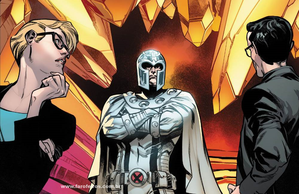Detalhes de House of X - Magneto - Casa de X - X-Men - Marvel Comics - Blog Farofeiros