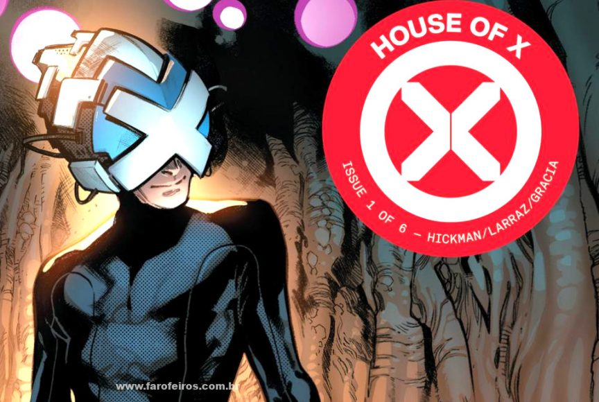 Detalhes de House of X - Professor Xavier - Casa de X - X-Men - Marvel Comics - Blog Farofeiros