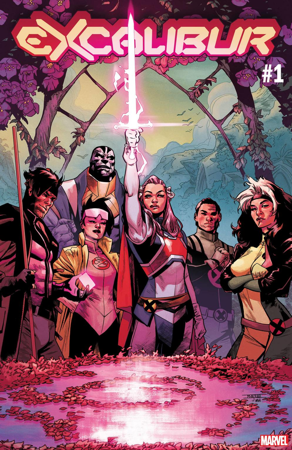 Marvel Comics na SDCC 2019 - X-Men - Excalibur #1 - Blog Farofeiros