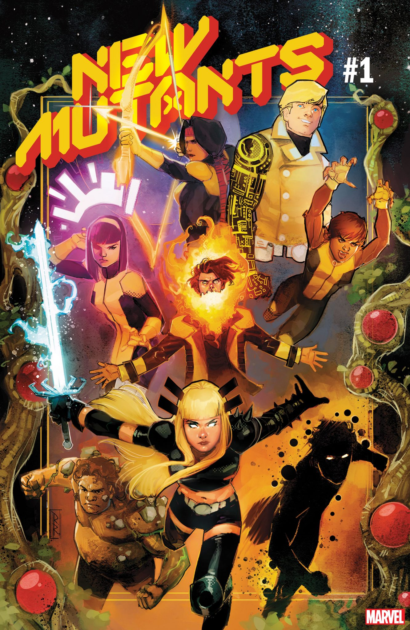 Marvel Comics na SDCC 2019 - X-Men - New Mutants #1 - Novos Mutantes - Blog Farofeiros