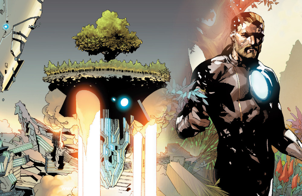 Detalhes de Powers of X - Poderes dos X - Avengers Vol 5 #32 - Nave Árvore de Franklin Richards - Blog Farofeiros