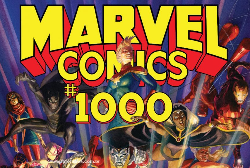 Marvel Comics #1000 - Blog Farofeiros