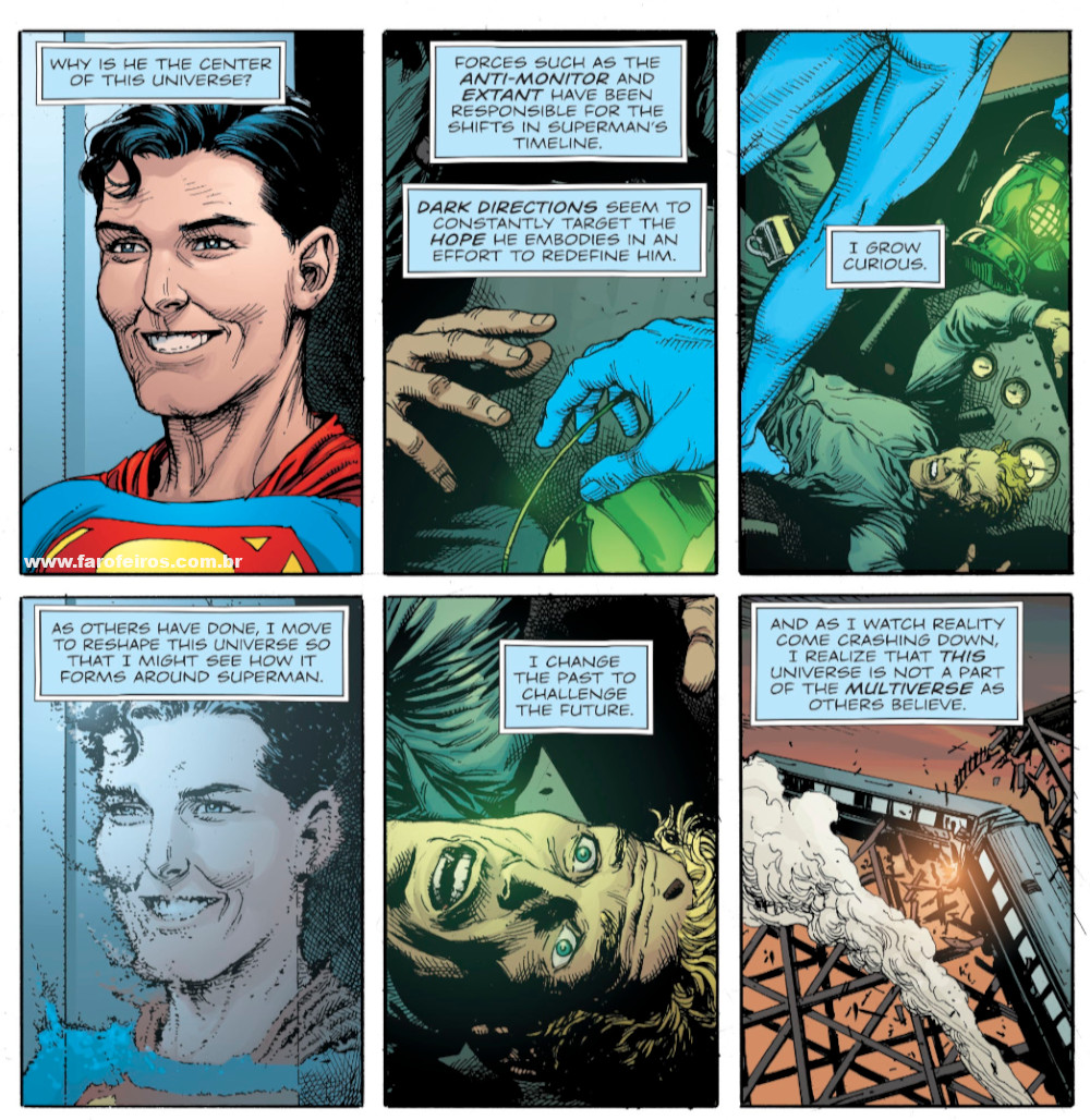 Superman - Lanterna Verde - Relógio do Juízo Final - Novos 52 foi culpa do Dr Manhathan - Doomsday Clock - Blog Farofeiros