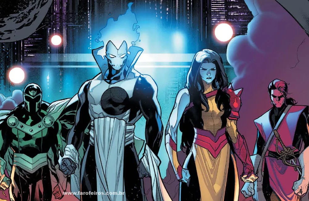 Quimeras - Detalhes de Powers of X - Poderes dos X - X-Men - Marvel Comics - Blog Farofeiros