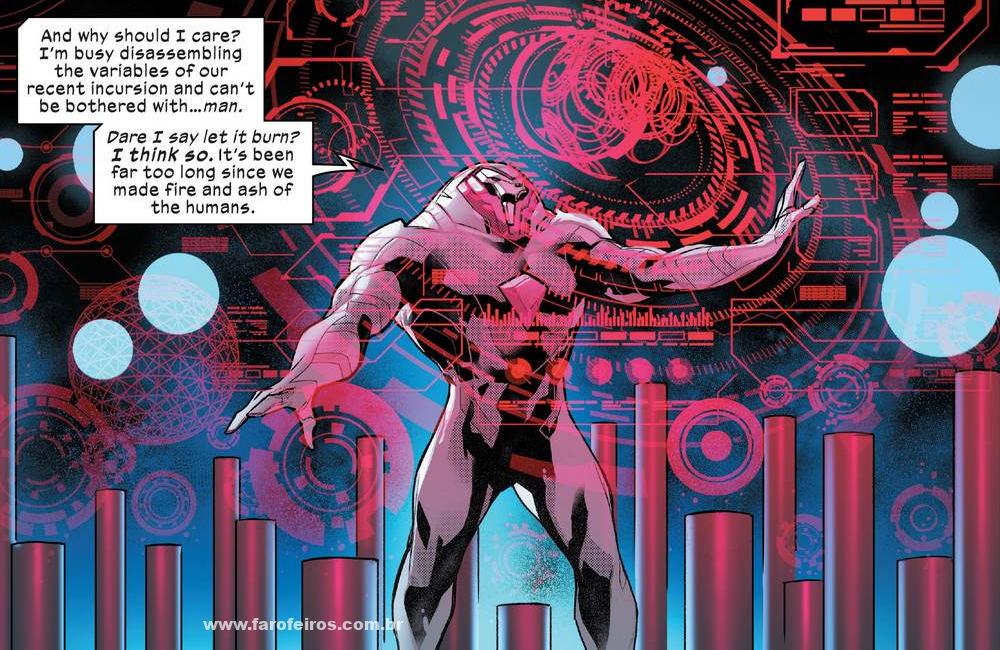 Nimrod - Homo Novissima - Powers of X - Poderes dos X - X-Men - Marvel Comics - Blog Farofeiros