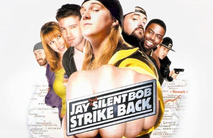 O Império do Besteirol Contra Ataca - Jay and Silent Bob Strikes Back - Jay e Bob Calado - Poster - Blog Farofeiros