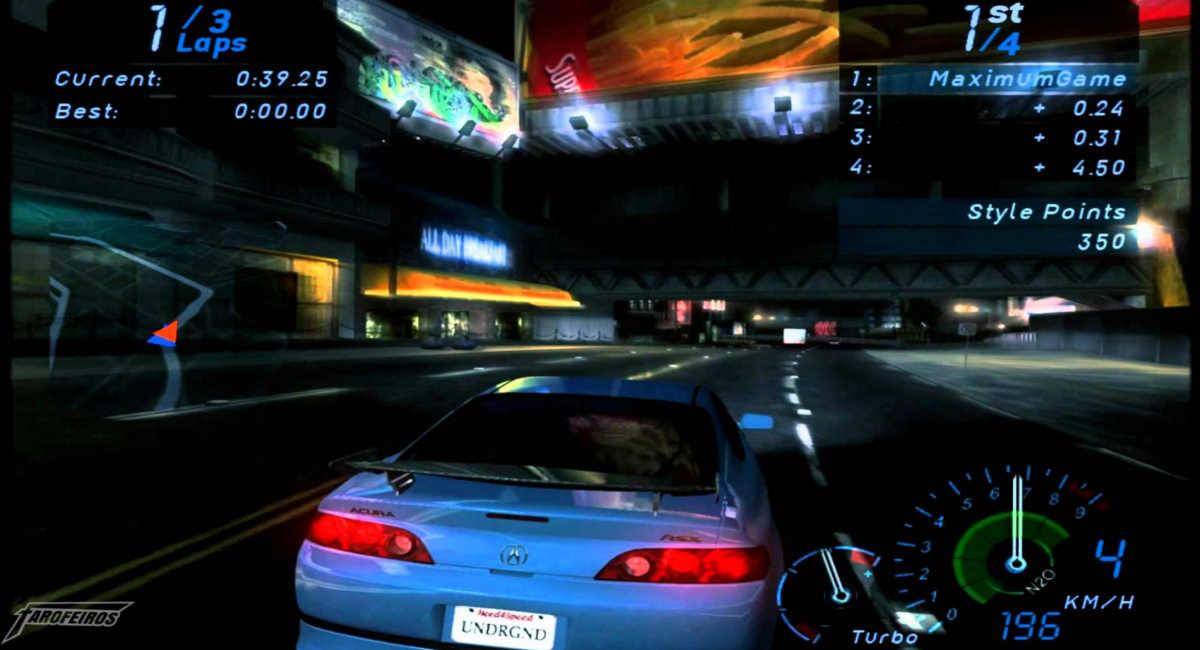 Need for Speed: Underground Gamecube