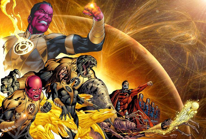 Ivan Reis é o melhor desenhista de comics de 2007 - Sinestro Corps - 1 - Blog Farofeiros