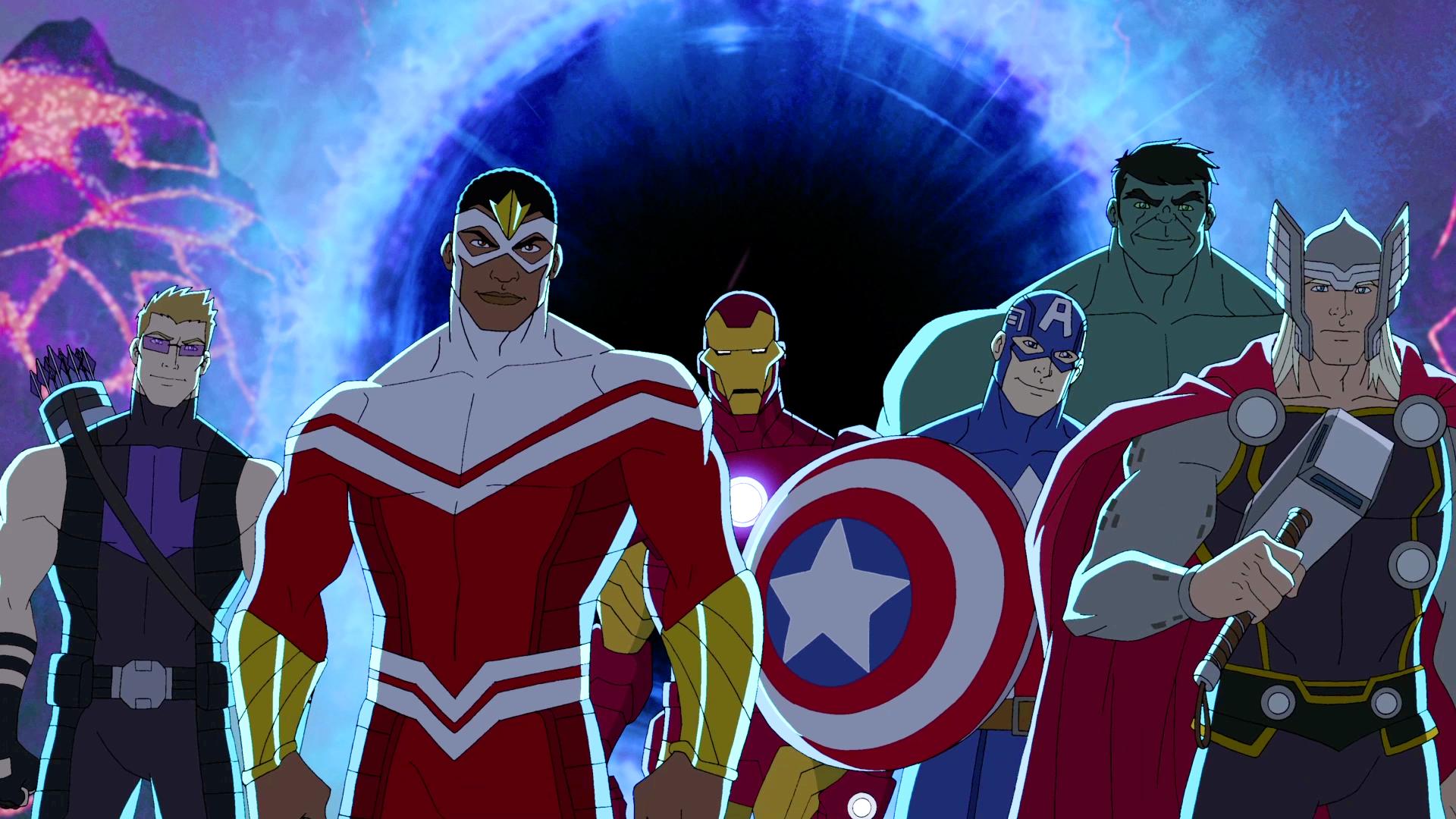 Vingadores - desenho animado - - Marvel culpa diversidade pela baixa venda de quadrinhos - Blog Farofeiros