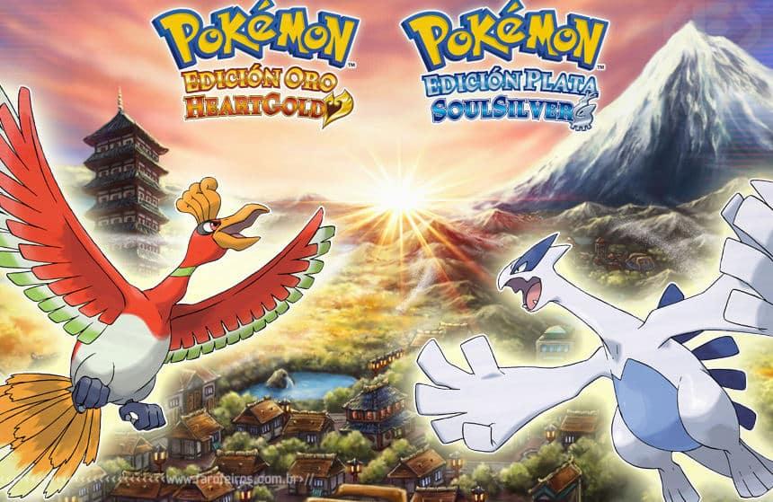 Pokémon Heart Gold & Soul Silver - Blog Farofeiros
