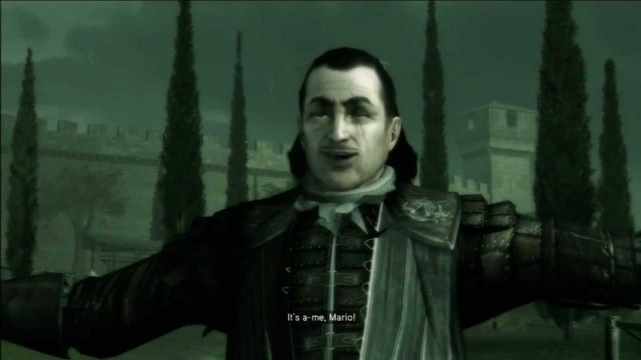 Assassin's Creed II's Mario