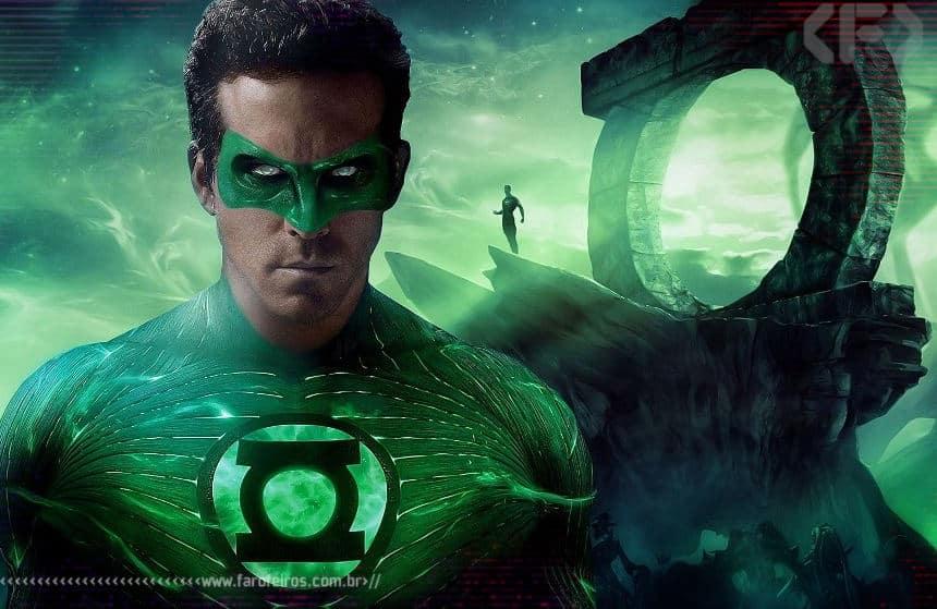 Lanterna Verde - Ryan Reynolds - Blog Farofeiros