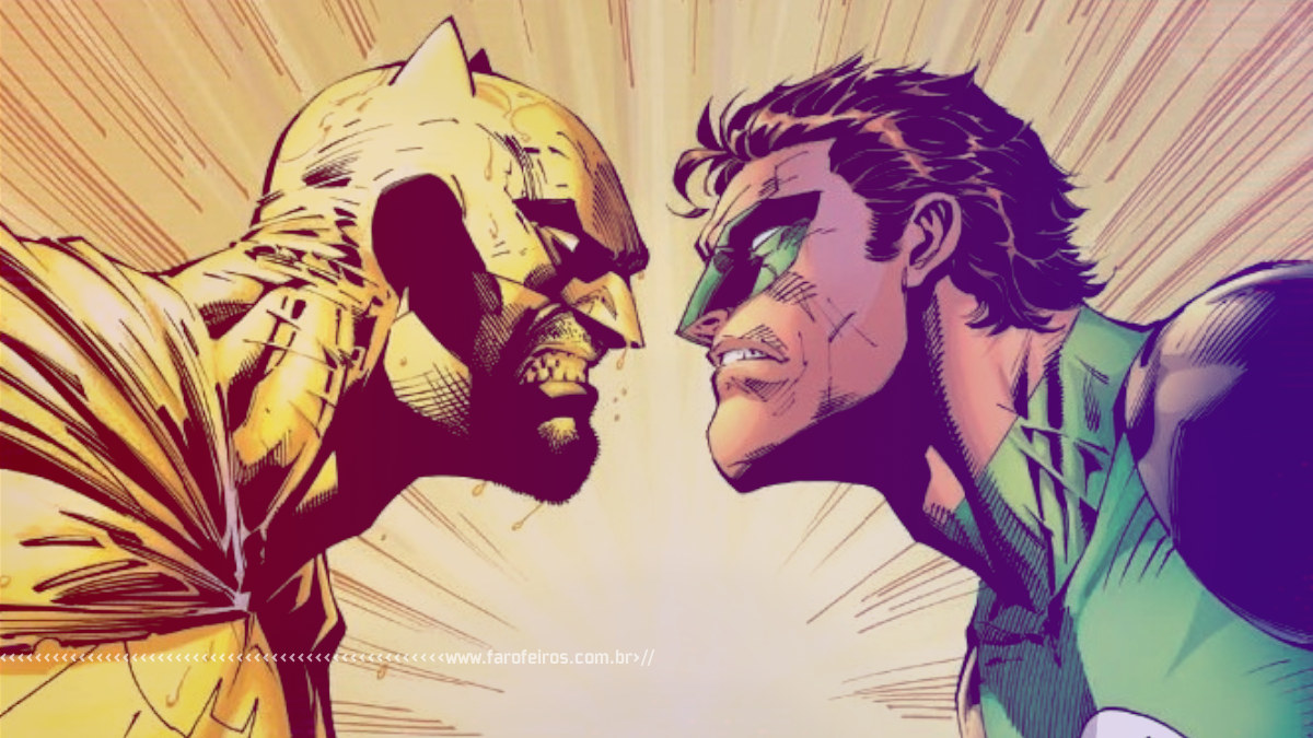 Batman Amarelo vs Lanterna Verde - 1 - Blog Farofeiros