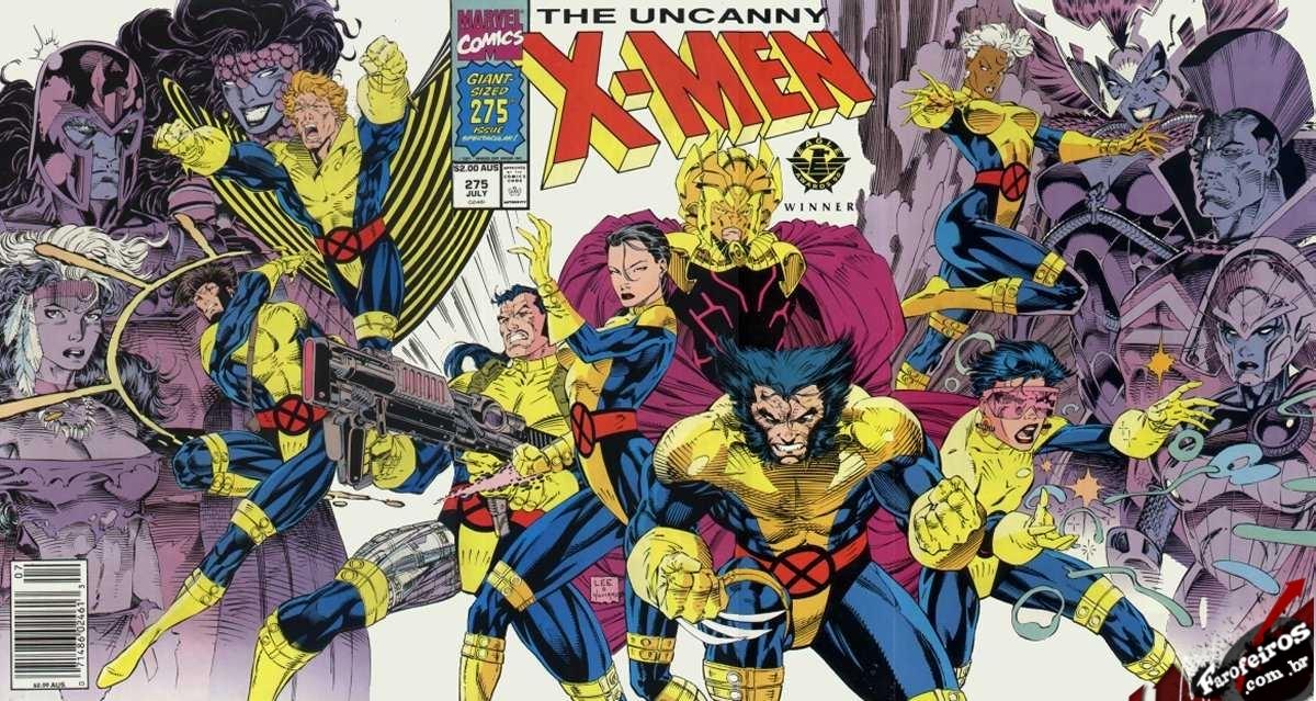 Esses quadrinhos de 1992 eram legais - Uncanny X-Men - Jim Lee - Blog Farofeiros
