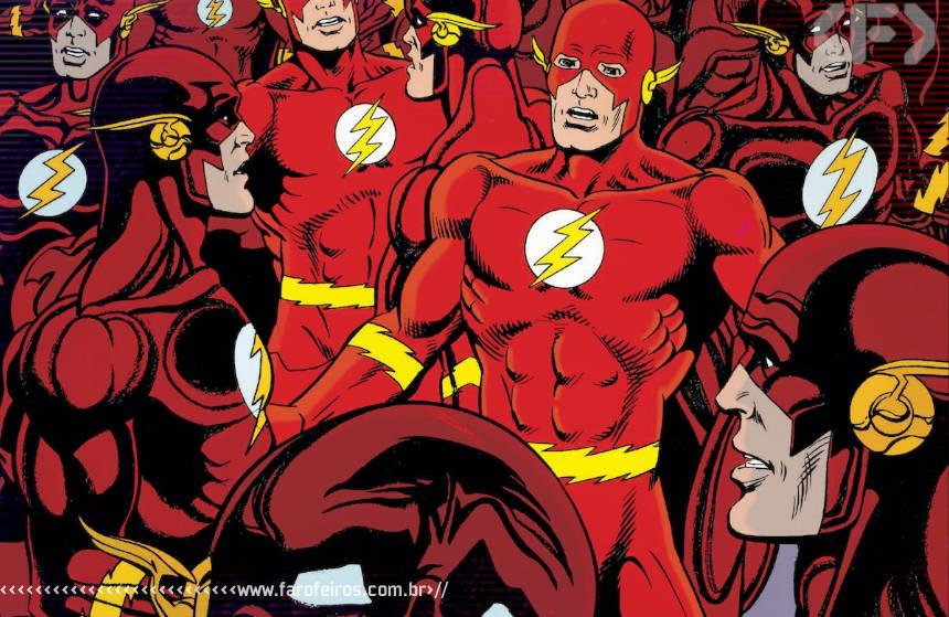 Flash com medo - Blog Farofeiros