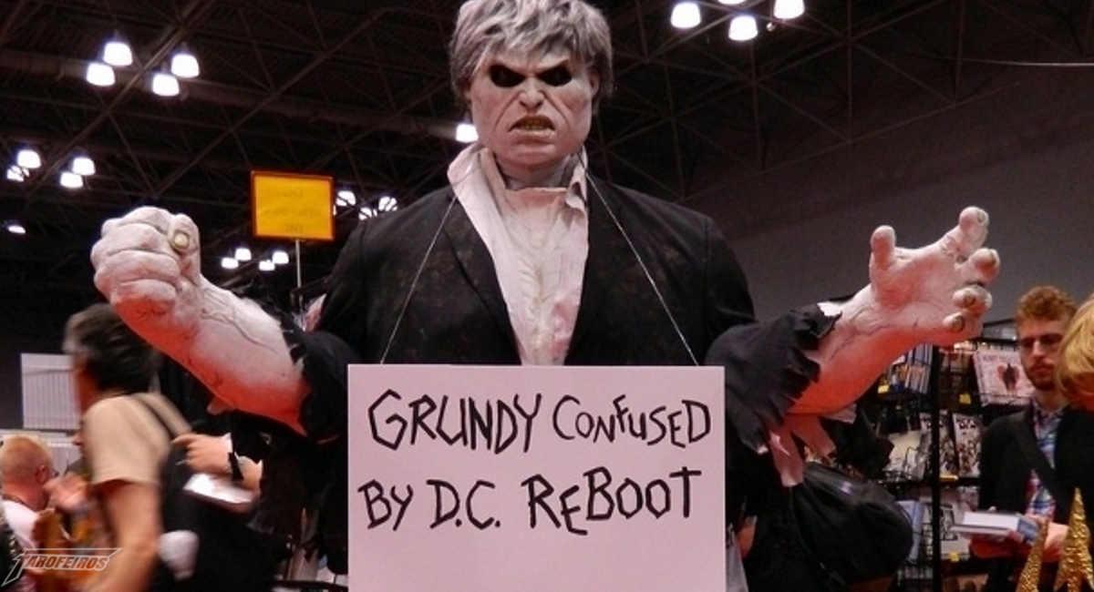 Grundy também não entendeu o reboot da DC