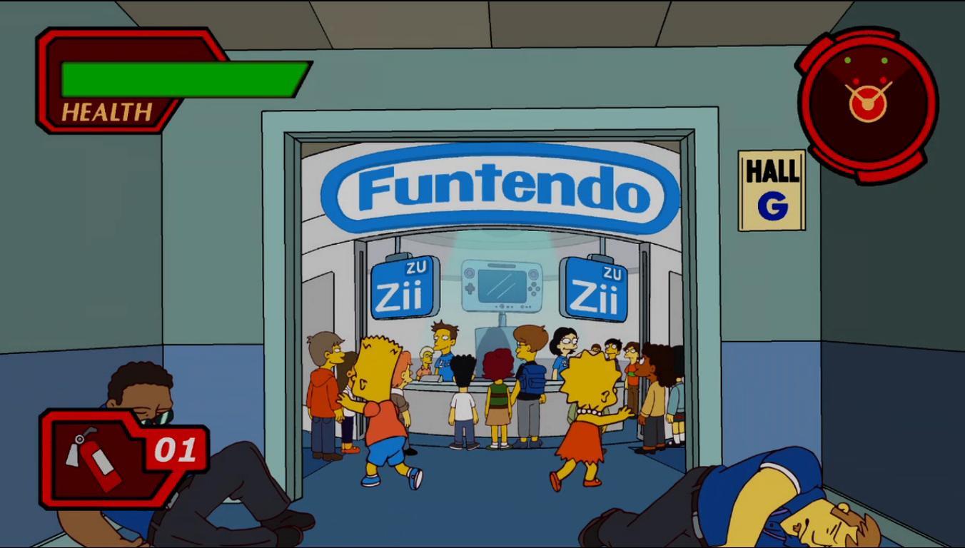 Os Simpsons na E4