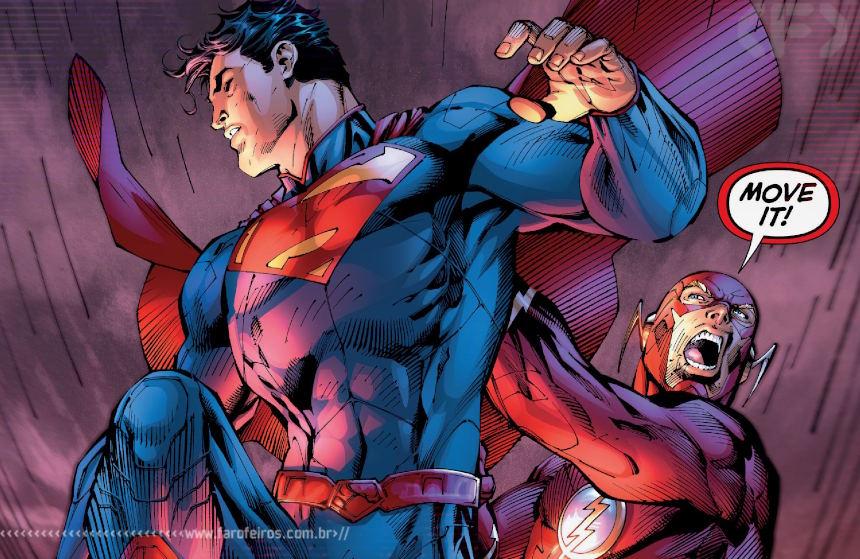 Superman - Flash - Novos - Blog Farofeiros