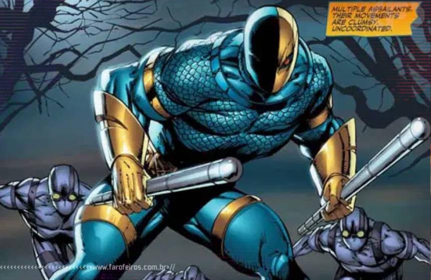 Novos 52 - Rob Liefeld irá escrever mais três títulos da DC Comics - Deathstroke - Blog Farofeiros